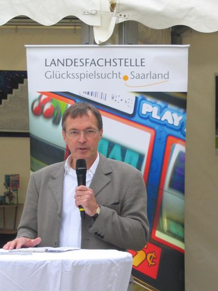 Eröffnungsrede durch Herrn Ulrich Harth – Leiter der Sozialen Dienste des Caritasverbandes für Saarbrücken u. Umgebung e.V.